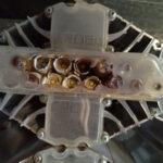 деградация люминофора светодиодных матриц до пробоя светодиодов и разрушение